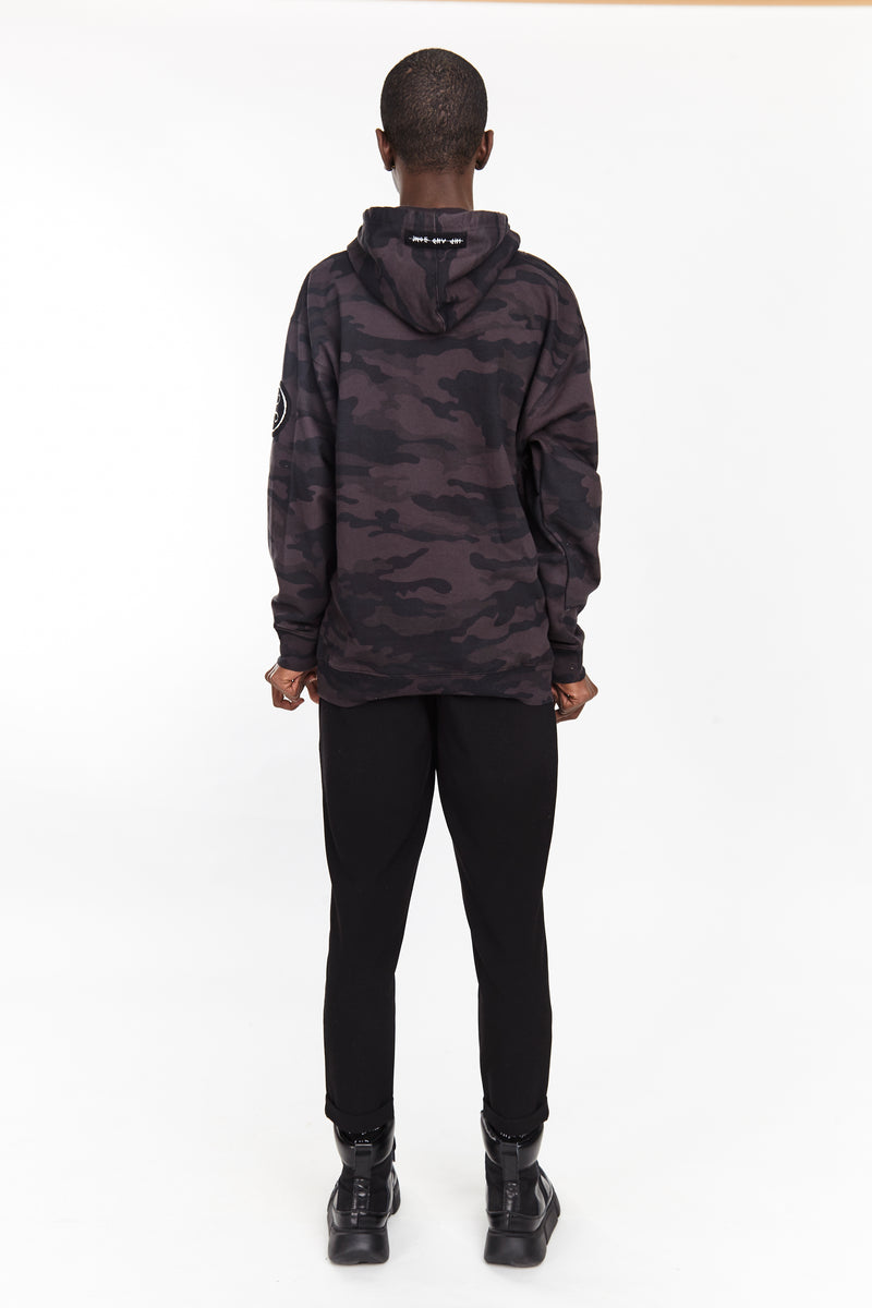 NIGHT CAMO HOODIE | | HIP AND BONE