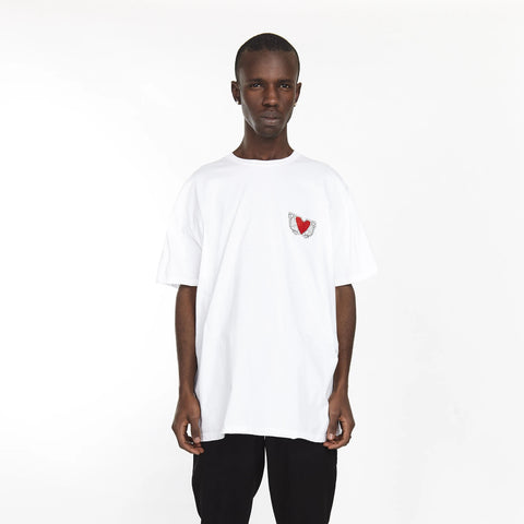 FIRE EYE TEE WHITE