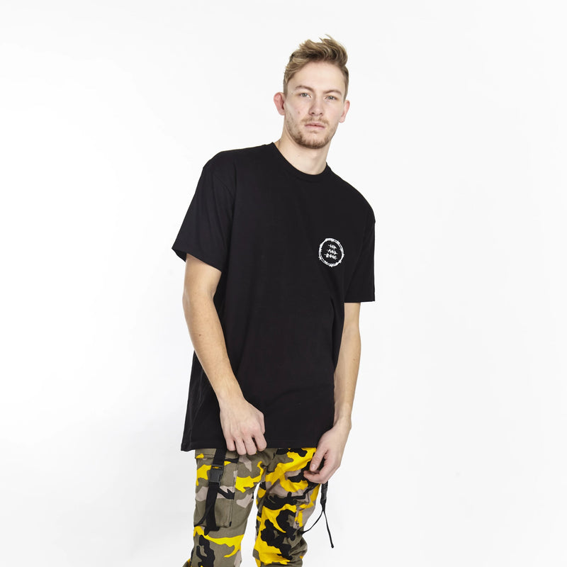 VICIOUS CIRCLE TEE BLACK | Tops | HIP AND BONE