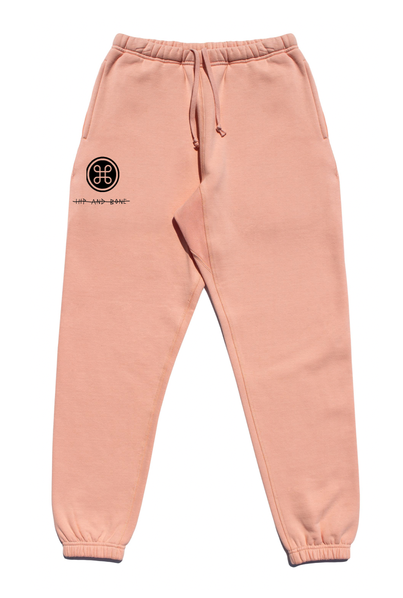 SOFTEST JOGGER EVER ESSENTIALS SALMON | Bottoms | HIP AND BONE
