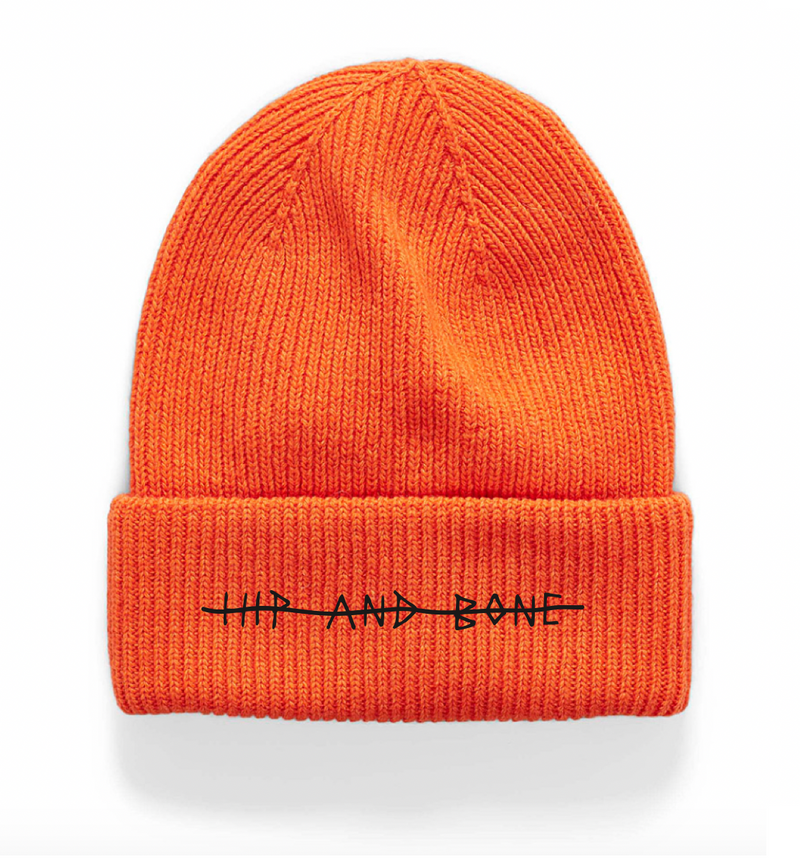 HIP AND BONE ROLL UP NEON ORANGE - HIP AND BONE