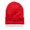HIP AND BONE ROLL UP BEANIE WHITE - HIP AND BONE