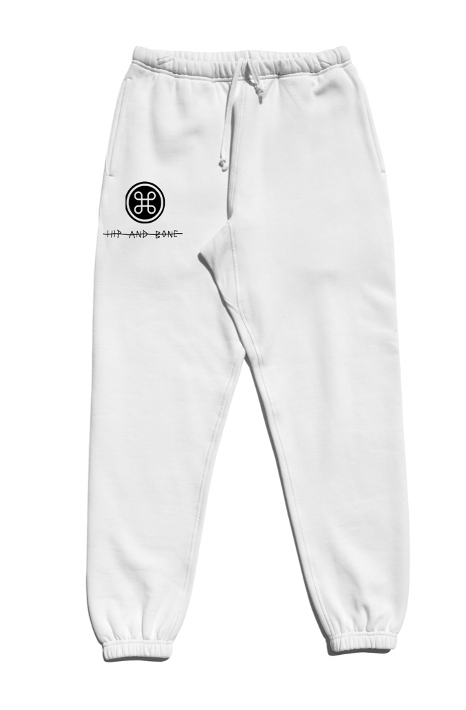 SOFTEST JOGGER EVER ESSENTIALS WHITE | | HIP AND BONE