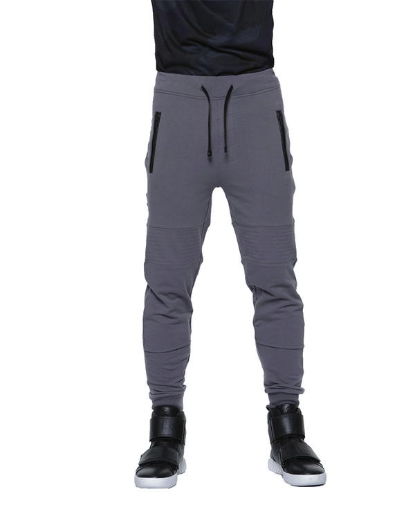 BIKER JOGGER / CHARCOAL | Bottoms | HIP AND BONE