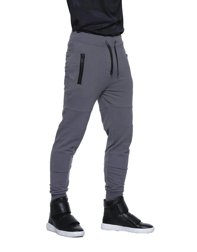BIKER JOGGER / CHARCOAL - HIP AND BONE