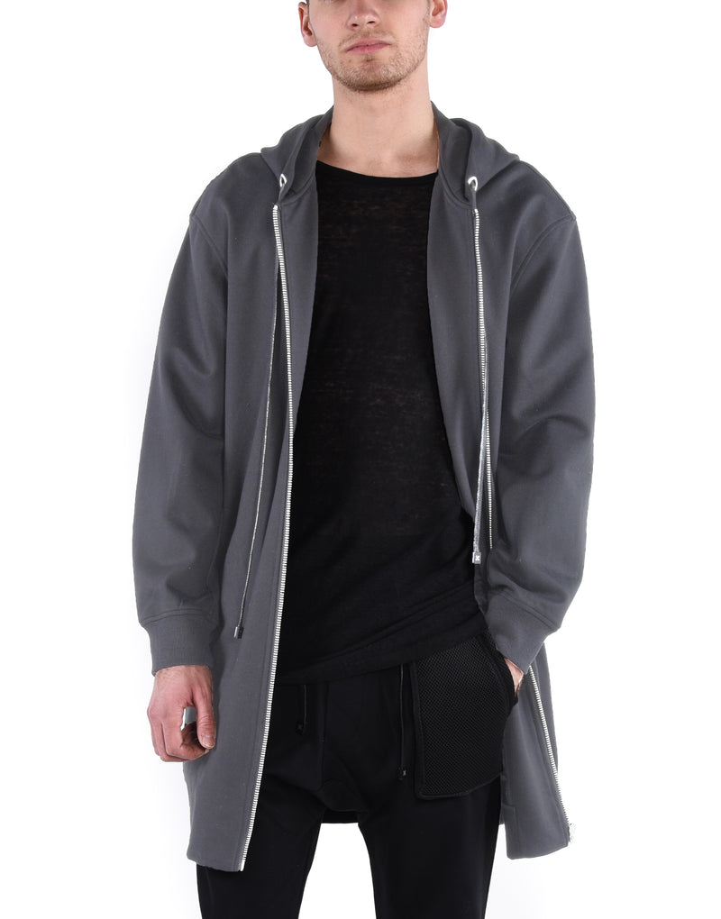 SHADOW NEOPRENE CLOAK / CHARCOAL - HIP AND BONE