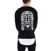 BONE CAGE CREWNECK / BLACK - HIP AND BONE