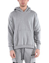 CORSET HOODIE / GREY - HIP AND BONE