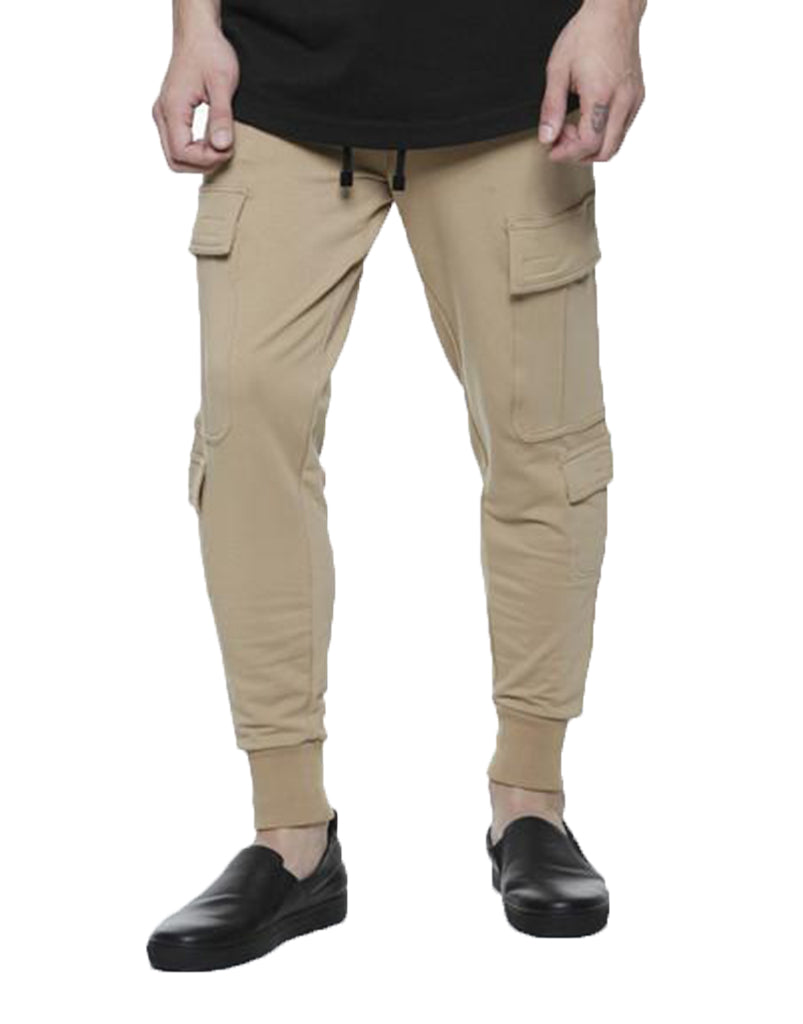 SHANGHAI CARGO JOGGERS / SAND - HIP AND BONE