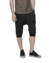 SOFTEST TIE DYE SHORTS EVER ELECTRIC BLACK