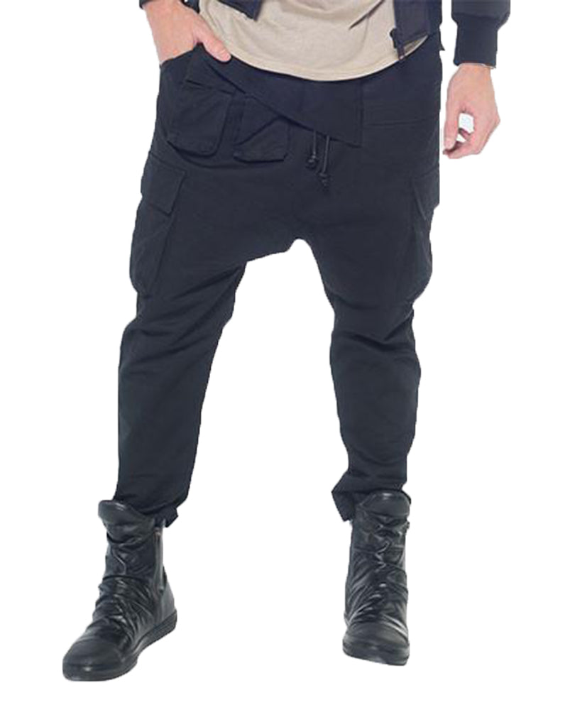 PARACHUTE TROUSERS / BLACK - HIP AND BONE