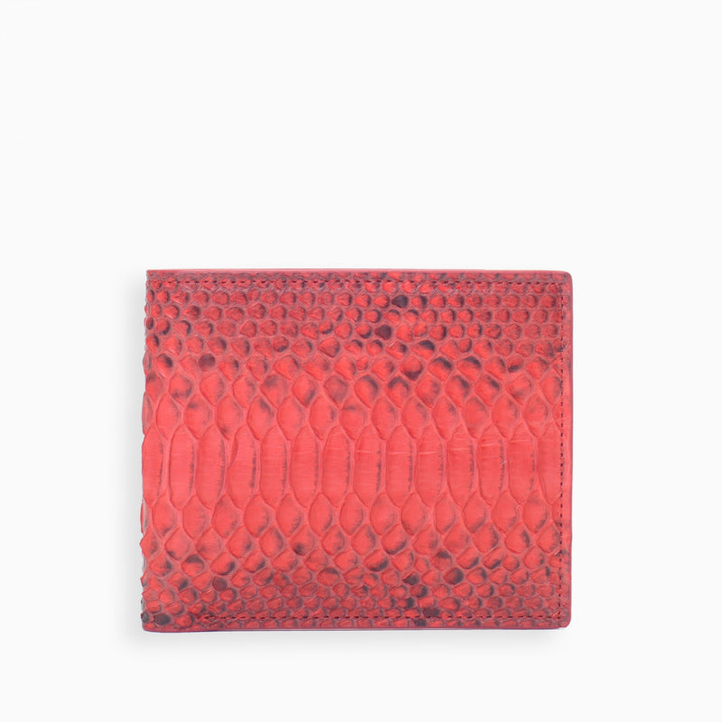 PYTHON WALLET / RED | Accessories | HIP AND BONE