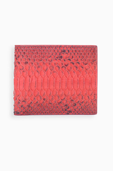 PYTHON WALLET / RED - HIP AND BONE