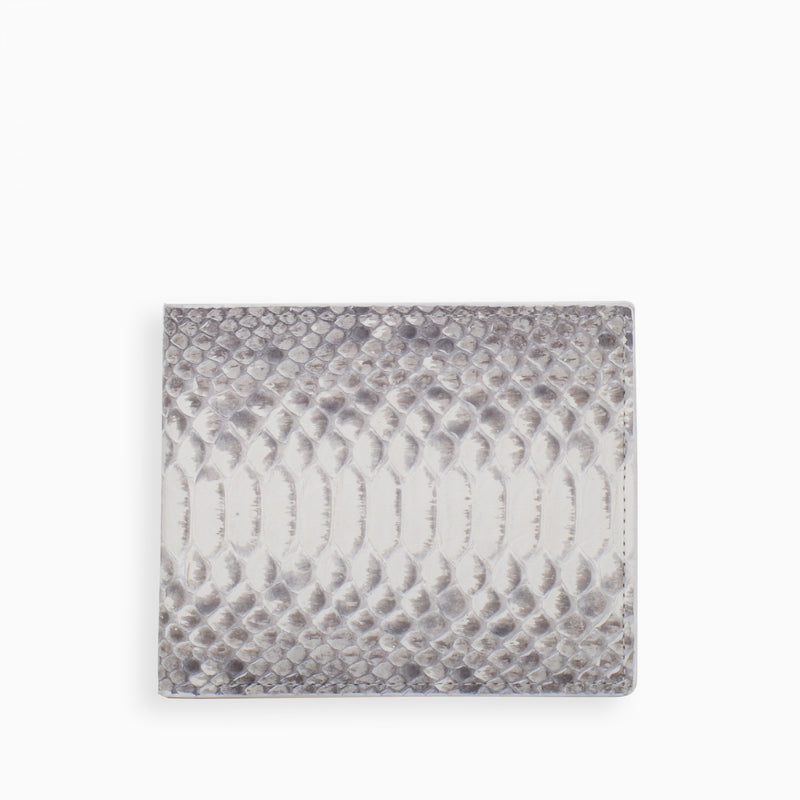 PYTHON WALLET / WHITE - HIP AND BONE