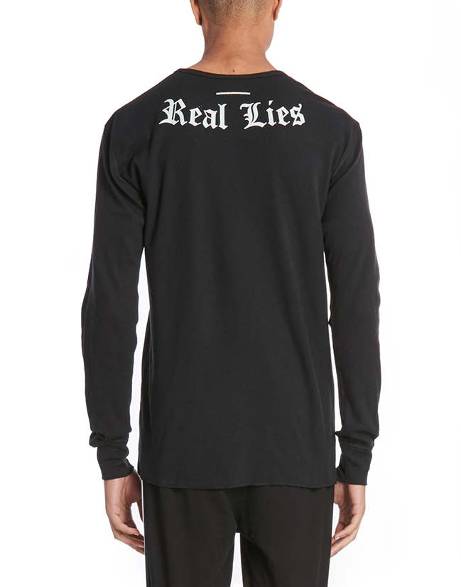 REALIZE CREW SWEATSHIRT / BLACK