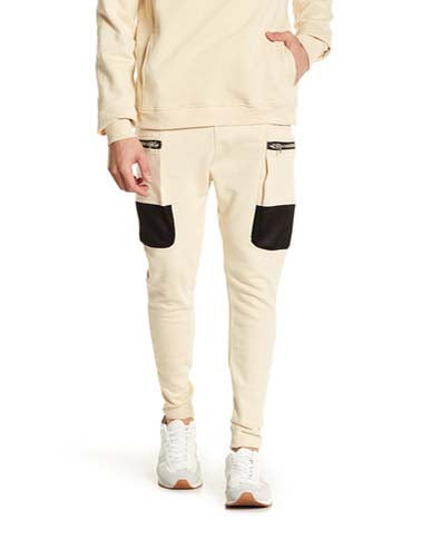 PARCHUTE CARGO JOGGER / SAND | Bottoms | HIP AND BONE