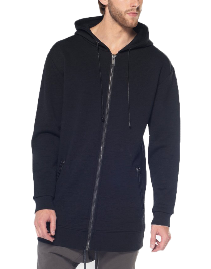 SHADOW HOODIE 3D PRINT/ BLACK - HIP AND BONE