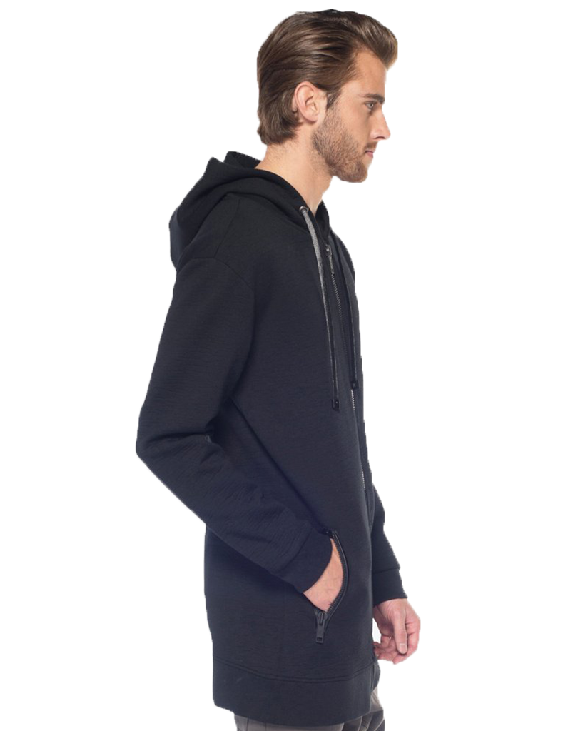 SHADOW HOODIE / BLACK - HIP AND BONE