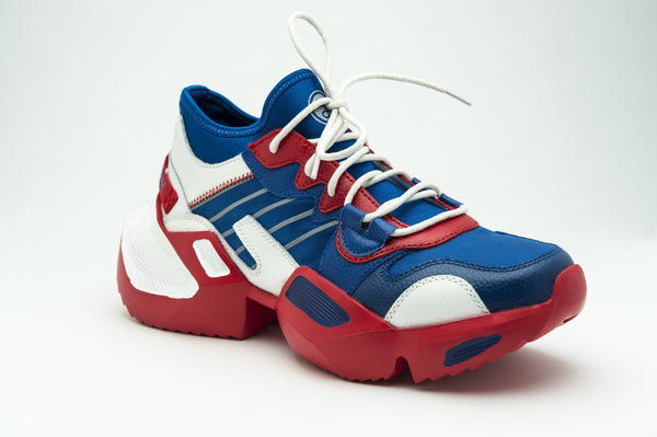 WAVE TRAINER METALLIC RED AND BLUE | Shoes | HIP AND BONE