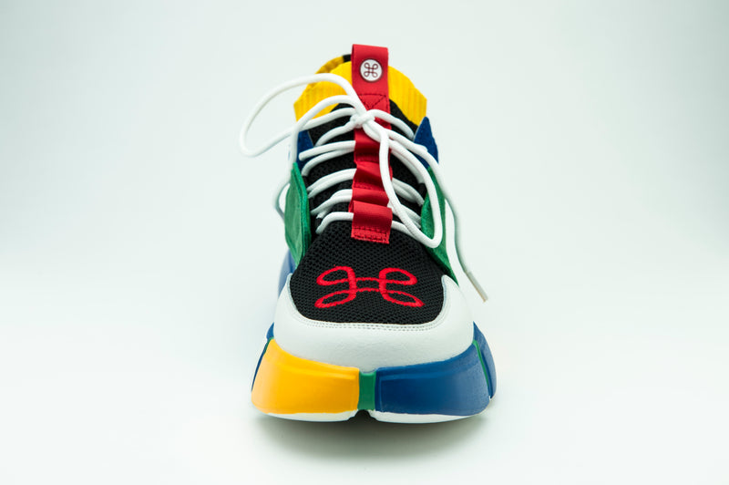 BLOCK SHOE MULTICOLOR - HIP AND BONE