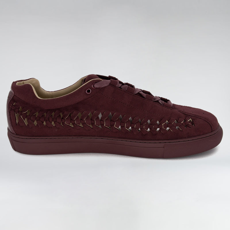 SUEDE WIRE RUNNER - BURGANDY SUEDE - HIP AND BONE