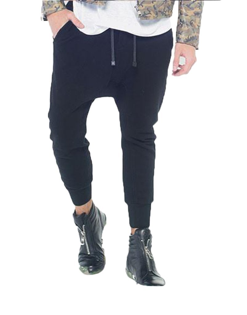 SHADOW JOGGERS / BLACK - HIP AND BONE