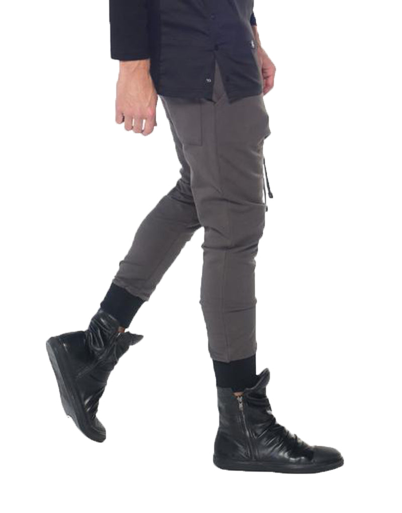 SHADOW JOGGERS CHARCOAL - HIP AND BONE