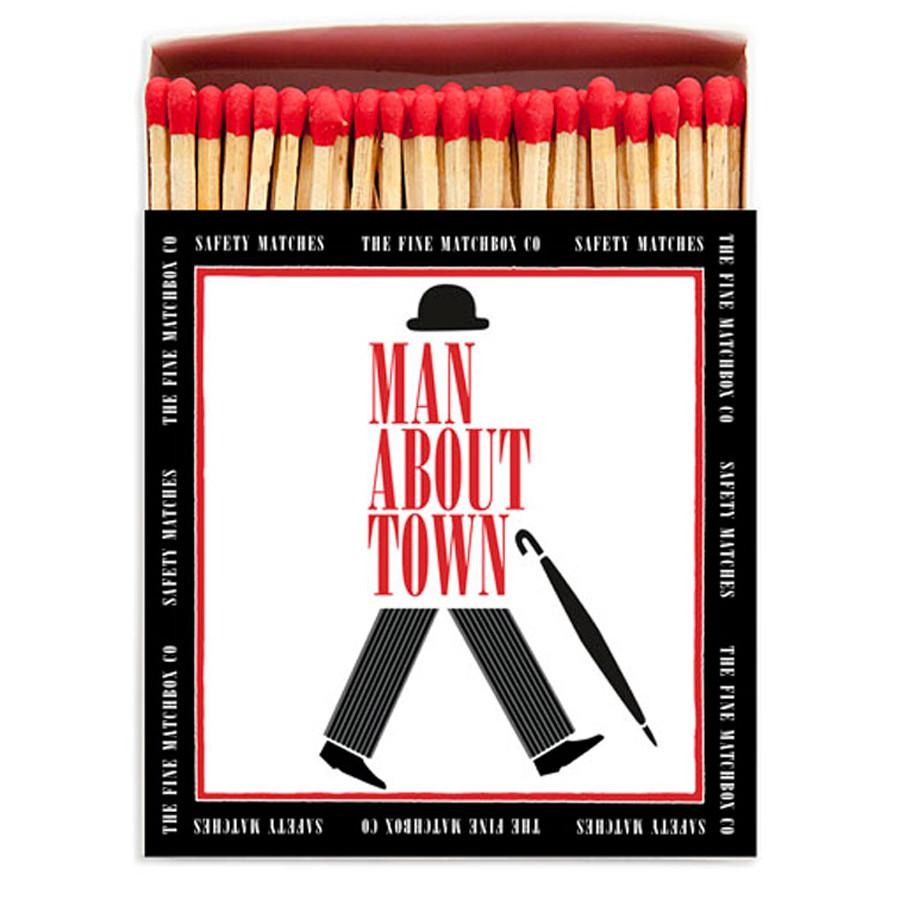 Man About Town Matches - Mayfair Candle Company
