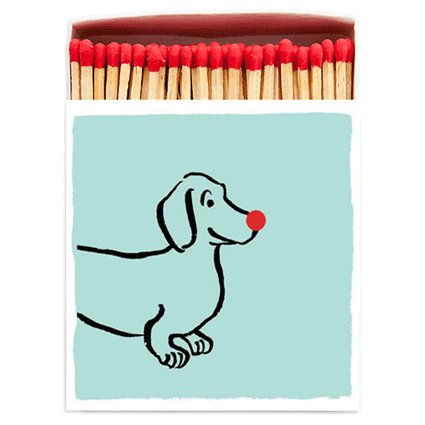 Sausage Dog Matches - Mayfair Candle Company