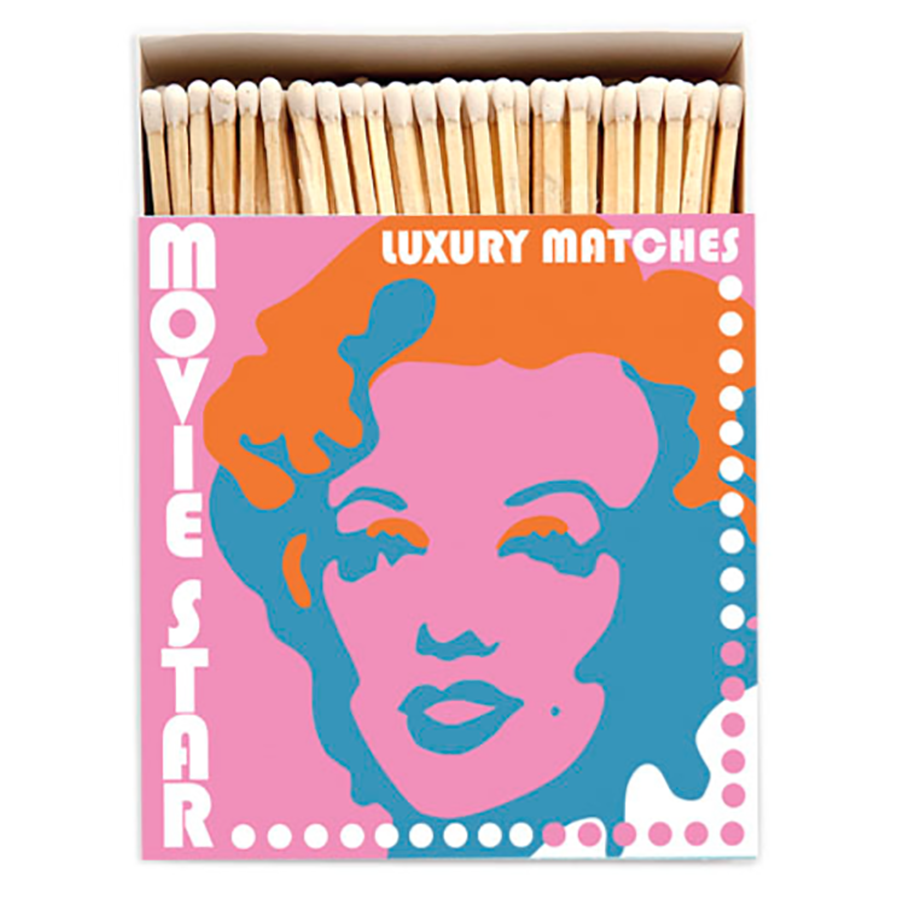 Movie Star Marilyn Monroe Matches