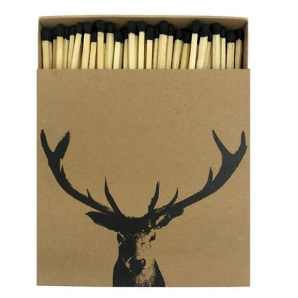 Stag Head Matches - Mayfair Candle Company