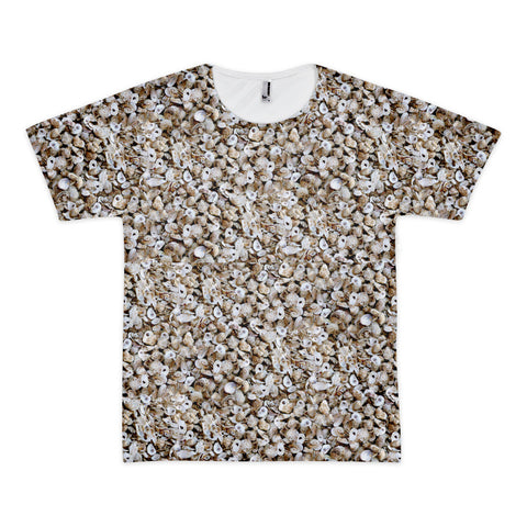 Short sleeve all over Oysterhead print