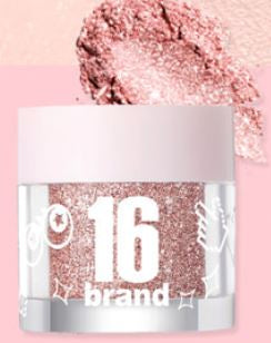 [16Brand] 16 CANDY ROCK PEARL POWDER 03 ROSE CANDY