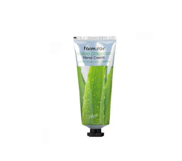 [Farm stay] VISIBLE DIFFERENCE HAND CREAM ALOE