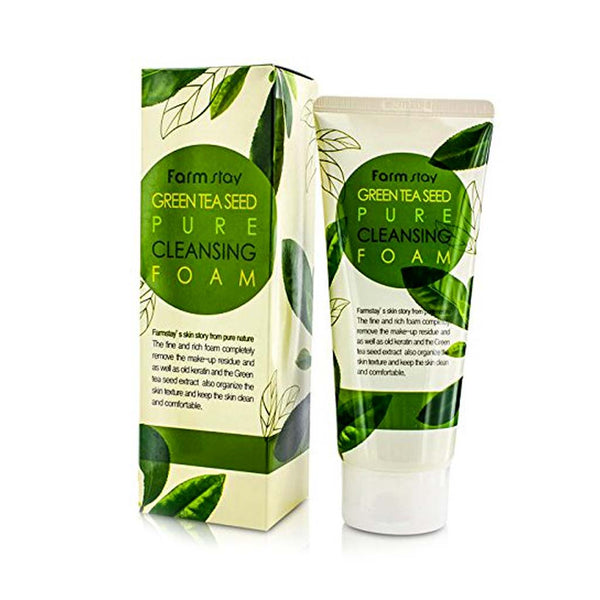 [Farm stay] GREEN TEA SEED PURE CLEANSING FOAM 180ml