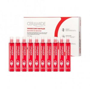 [Farm stay] CERAMIDE DAMAGE CLINIC HAIR FILLER 13ml*10