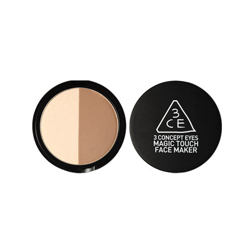 [3 Concept Eyes [3CE] [3 Concept Eyes] Magic Touch Face Maker (Beige gold toned) 10g