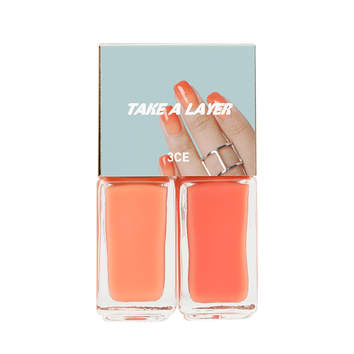 [3 Concept Eyes [3CE] TAKE A LAYER LAYERING NAIL LACQUER