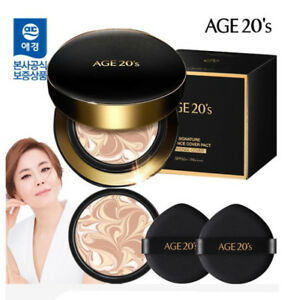 [age20] [Age 20's] Signature Essence Cover Pact Intense # 21 + Refill