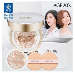 [age20] [Age 20's] Signature Essence Cover Pact Long Stay # 21 + Refill