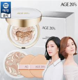 [age20] [Age 20's] Signature Essence Cover Pact Long Stay # 23 + Refill