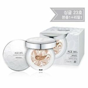 [age20] [Age 20's] Essence Cover Pact White Latte #23 + Refill