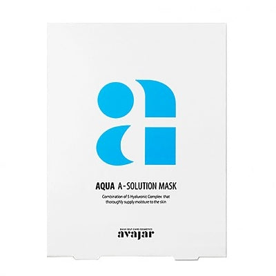 [Avajar] [Avajar] AQUA A-SOLUTION MASK 10EA