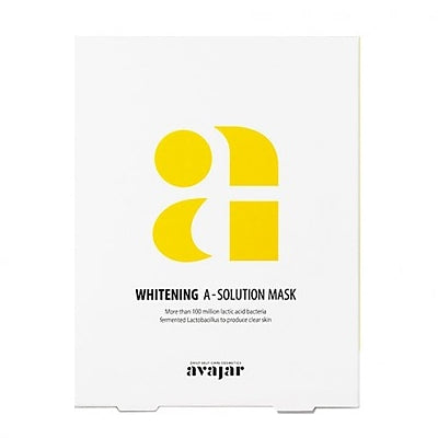 [Avajar] [Avajar] WHITENING A-SOLUTION MASK 10EA