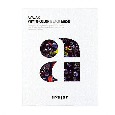 [Avajar] PHYTO-COLOR BLACK MASK 10EA