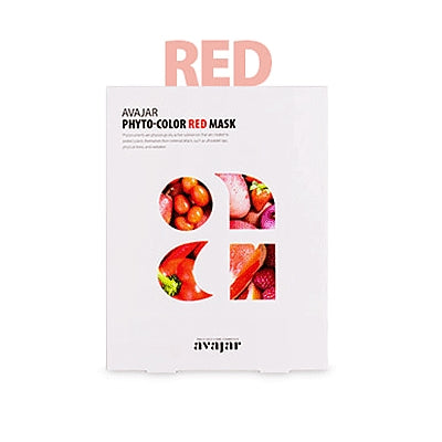 [Avajar] PHYTO-COLOR RED MASK 10EA