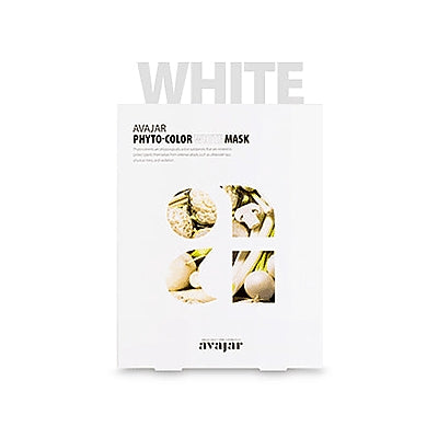 [Avajar] PHYTO-COLOR WHITE MASK 10EA