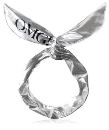[double dare] OMG! Platinum Hairband Silver