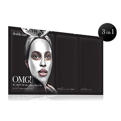 [double dare] OMG! Platinum Silver Facial Mask Kit 1ea