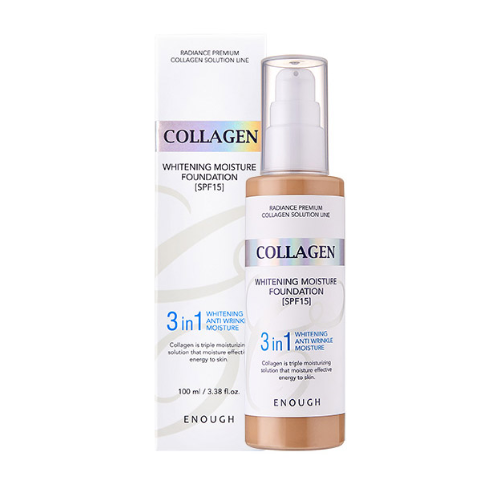 [ENOUGH] Collagen 3in1 Foundation #23
